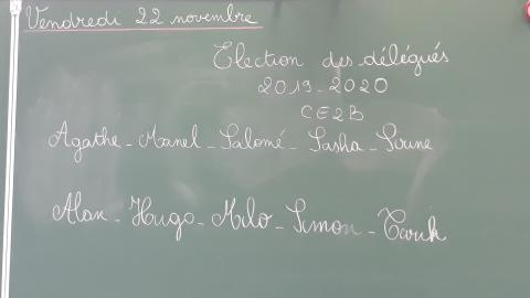 elections ecole